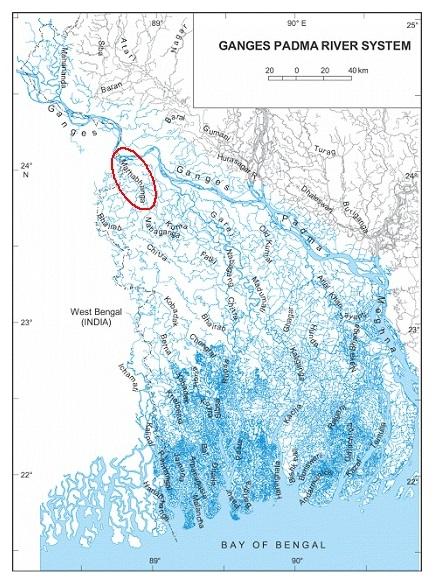 Water logging in south-western coastal region of Bangladesh